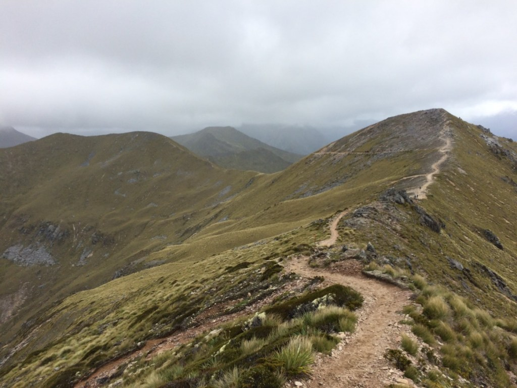 It's A Really Great Walk // Kepler Track (NZ), Nicholas Di Genni, saddle, ridge, track, cloud, mountains, distance