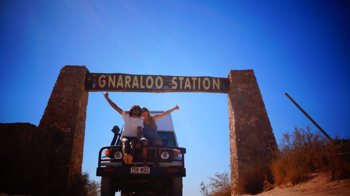 Troopy Travels // Chasing Sunsets From Byron Bay To The Ningaloo Reef, Alice Forrest, Gnaraloo Station, van, couple, on the road