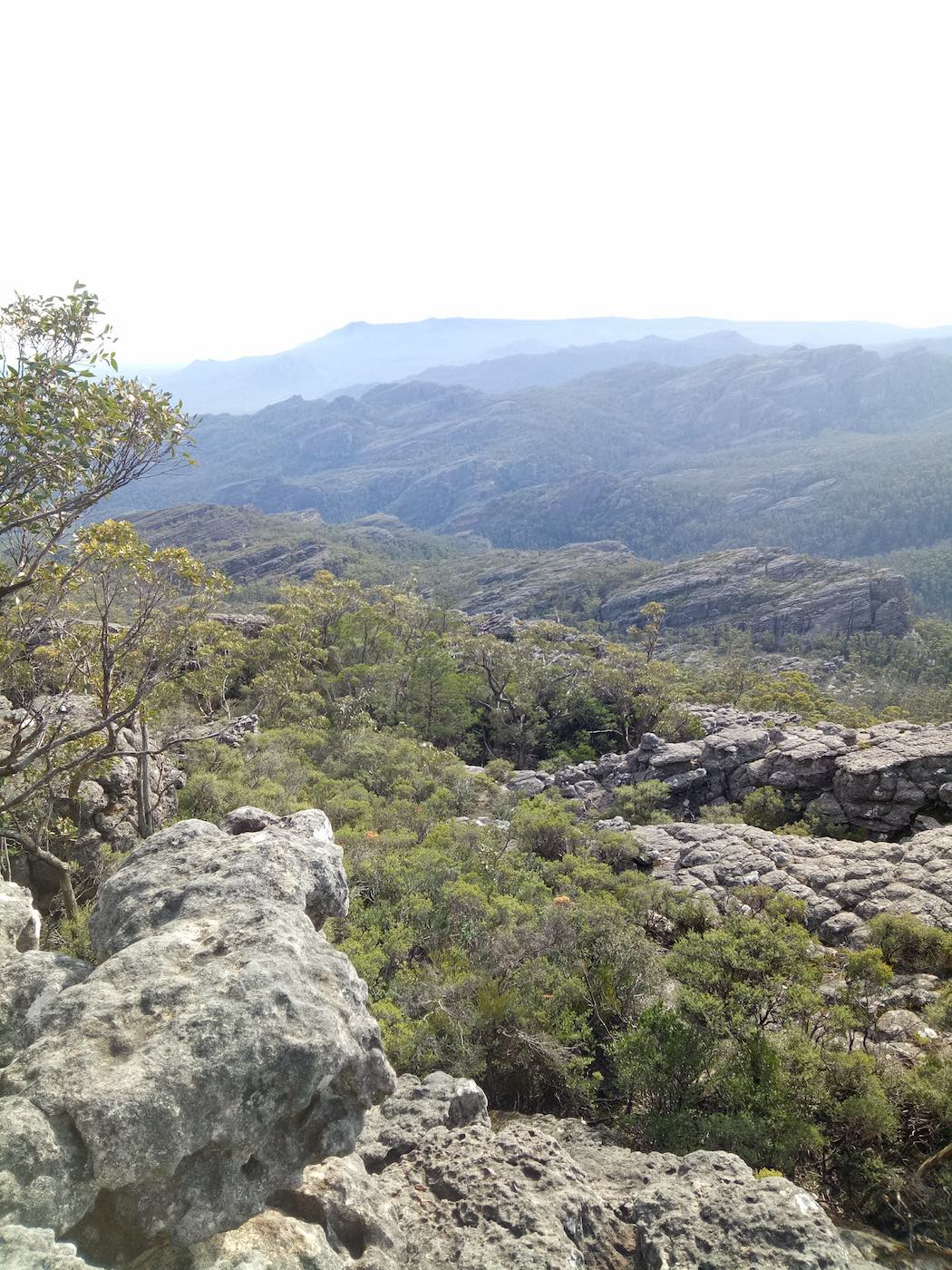 Sleeping With The Stars // The Fortress - Mt Thackeray Circuit Hike, Jed Anderson-Habel, view, valley, tree, rocks