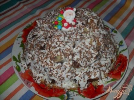 """Торт """"Графские развалины с фруктами"""", рецепт с фото ..."""