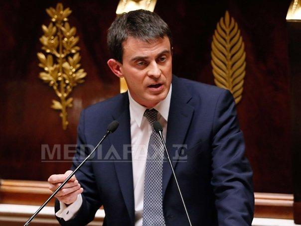 Imaginea articolului Premierul Franţei, Manuel Valls: Obiectivul teroriştilor este să provoace război interreligios