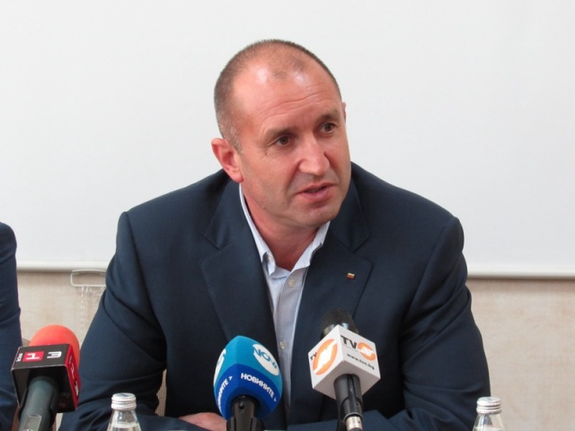 Image result for presedintele bulgar Radev photos