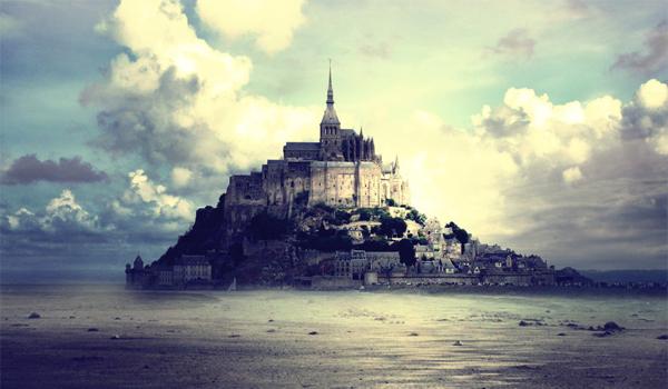 Abatia Saint Michel – minunea din largul oceanului