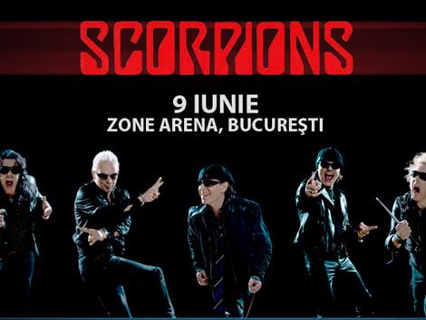 Bilete la pret redus pentru concertul Scorpions