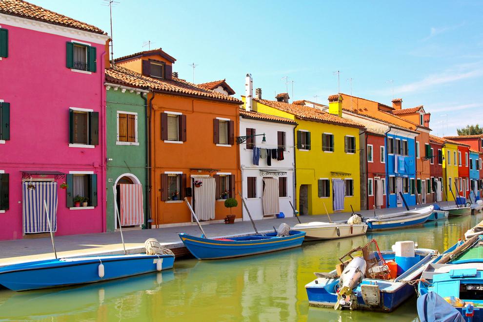 Burano Island, Italia