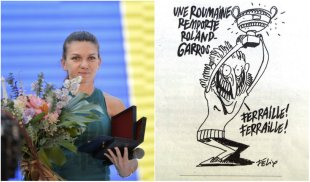 O celebră revistă franceză, derapaj incredibil la adresa Simonei Halep: