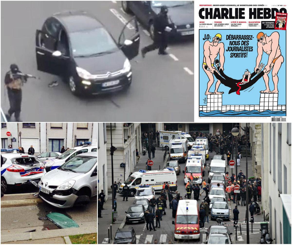 """Lumea sportului reacţionează după atentatul de la Paris. Marii sportivi ai Franţei: """"Noi suntem Charlie"""". 12 oameni au fost ucişi, iar agresorii sunt încă în libertate"""