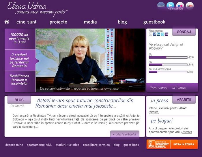 Udrea blog violet
