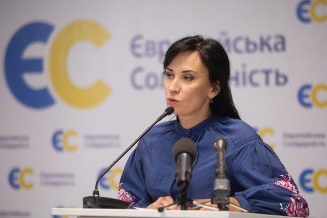 Звіробій стане кандидаткою від ЄС на довиборах у Раду по округу в Надвірній 04