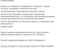 """""""Оппоблоковец"""" Суханов, подозреваемый в антисемитизме, выехал в оккупированный Крым, - Филатов"""