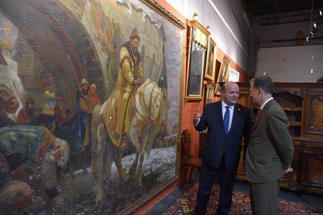 Из США в Украину возвращается картина художника Панина, похищенная нацистами во время Второй мировой войны 02