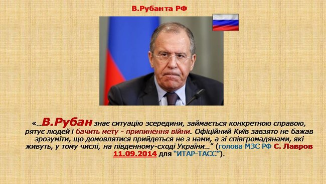 Рубан - российский политический проект: презентация СБУ о деятельности руководителя Офицерского корпуса 20