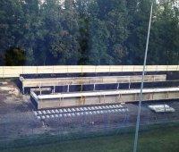 """В аэропорту """"Борисполь"""" начали строить платформы для приема поездов из Киева. ФОТО"""