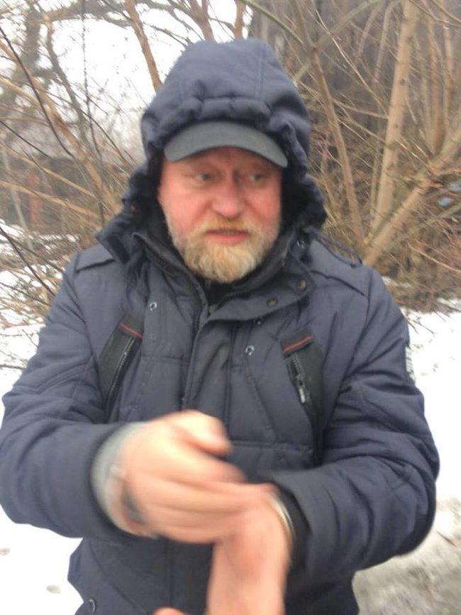 Переговорщик Рубан задержан, когда пытался вывезти из ДНР оружие и боеприпасы, - Громадське радіо 06