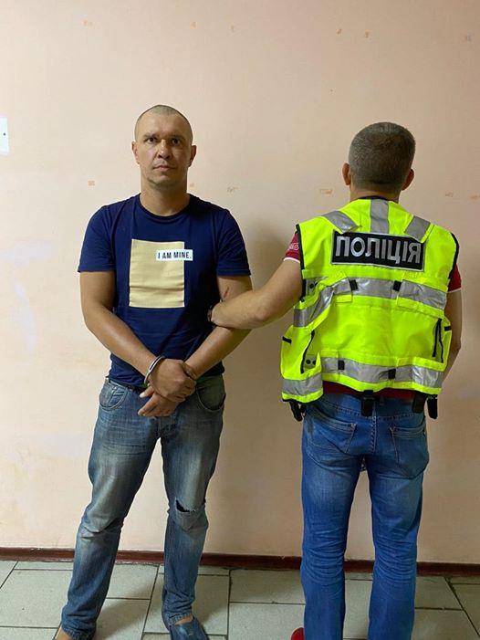 Рудзька, який намагався зґвалтувати пасажирку поїзда Маріуполь-Київ, затримано, - заступник голови МВС Геращенко. ФОТО 02