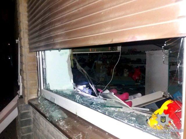 Ночью в Харькове подорвали банкомат Приватбанка и забрали из него деньги, - Нацполиция 05