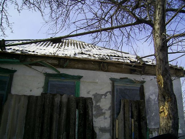 Российские оккупанты из артиллерии калибром 152 мм обстреляли жилой дом в Подлесном 02