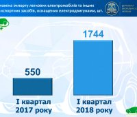 Импорт электромобилей в Украину с начала года вырос втрое. ИНФОГРАФИКА