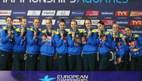 Победа в синхронном плавании: Украинские синхронистки ...