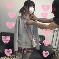 初撮り中出し3P☆可愛い黒髪18歳(天使)ピン…
