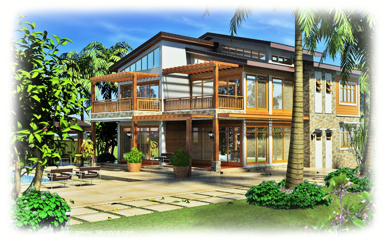 Architectural Home Design Greyy Reyes