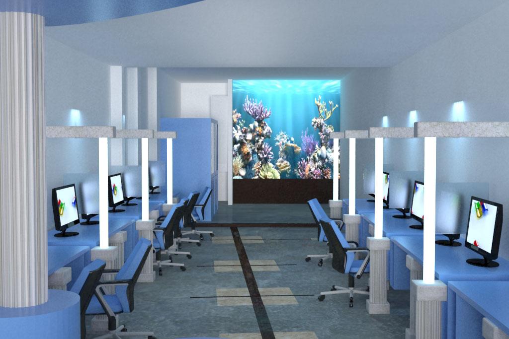 internet cafe interior design Psoriasisgurucom