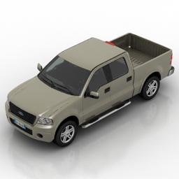 Land Transport 3D Models Car Ford F150 N040912 3D Model Gsm3ds For Exterior 3d