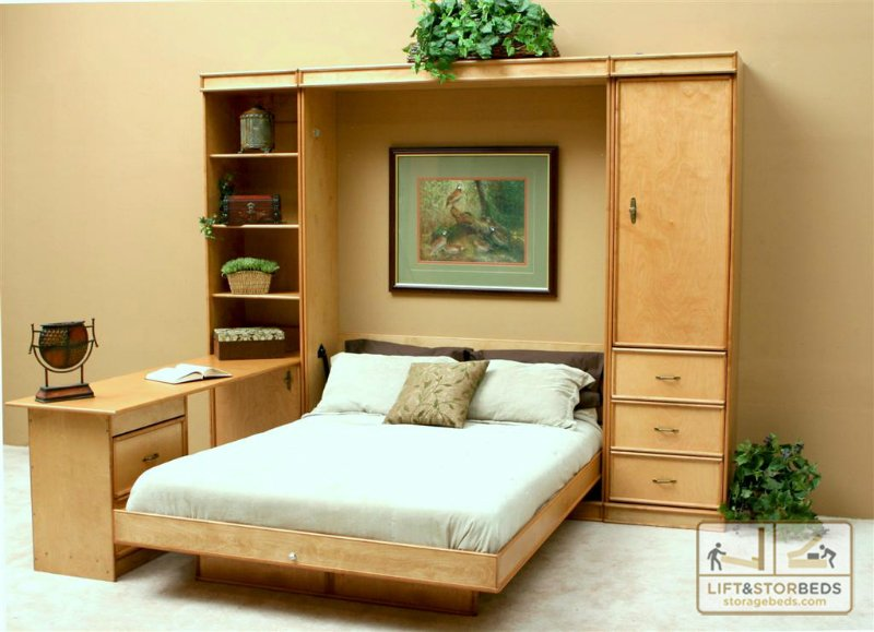 The Different Types Of Murphy Beds Lift Amp Stor Beds