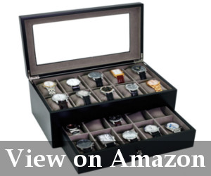 oversized watch storage box for men
