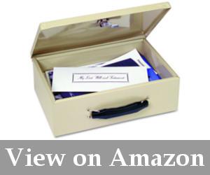 best fireproof cash box reviews