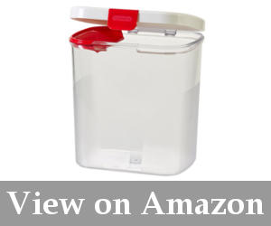plastic container for flour reviews