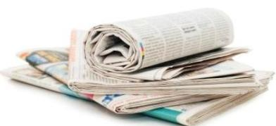 Image of media, news papers
