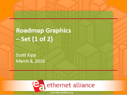 Ethernet Alliance 2016 roadmap presentation #1