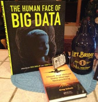 Cover image of Human Face of Big Data Book