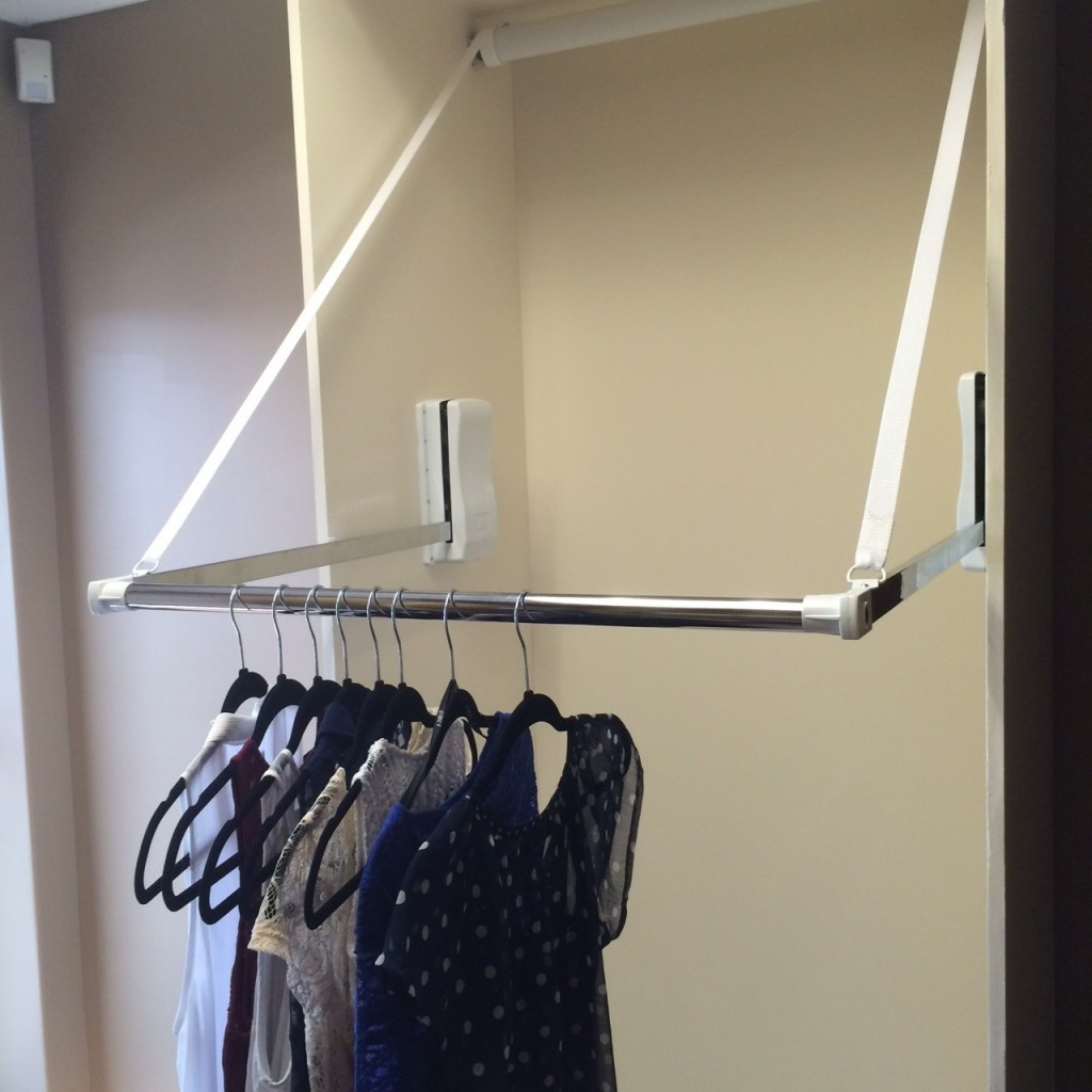 Automated Wardrobe Lift Electric Motorized Clothes Rail