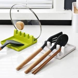 Kitchen Spoon Fork Spatula Holder Kitchen Storage Color : Grey|White|Green|Random Color|White 2|Blue 2|Grey 2
