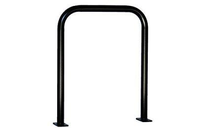 Commercial Grade Bicycle Parking Inverted U Hoop Bike Rack