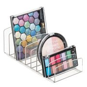 Clarity Vertical Plastic Palette Organizer for Storage of Cosmetics
