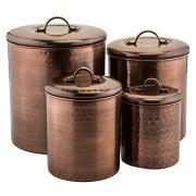 Old Dutch Canister Antique Copper