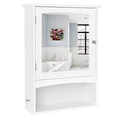 Bathroom Wall Storage Cabinet with Adjustable Shelf