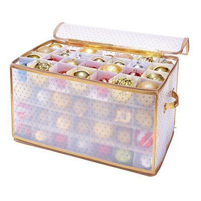 Simplify 112-Count Christmas Ornament Storage Box