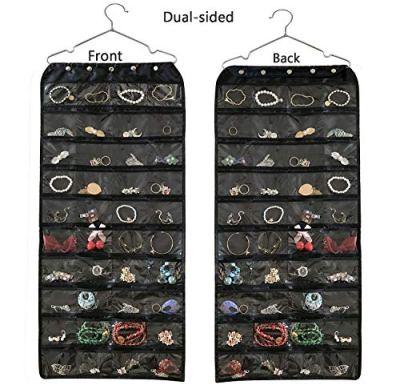 Hanging Jewelry Organizer,Accessories Organizer, Oxford 80 Pocket