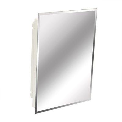 Frameless Beveled Polished Edge Mirror Medicine Cabinet