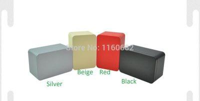 14.5*10*8cm Rectangle tea tin box /jewelry storage box/gift container