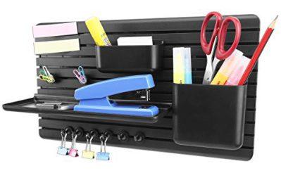 Multipurpose Wall Storage Organizer for Entryway Office Kitchen Refrigerator