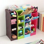 LC 1PC Multifunctional Socks/Underwear Organizer Stationery/Tableware Plastic Storage Box Cosmetics Makeup Organizer Box 62920