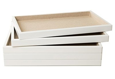 Hives and Honey Stackable Jewelry Organizer Trays Set of 5