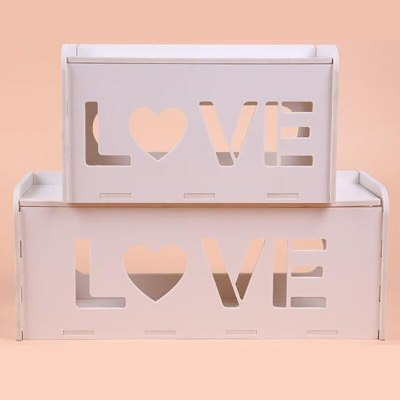 2019 DIY wood Wire Storage Box Cable Manager Organizer Box Power Line Storage Cases Junction Box Household Necessities M-XL Y02