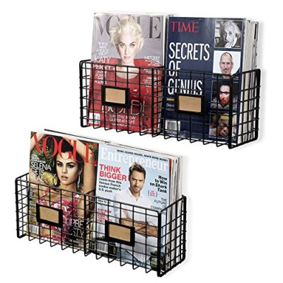 Magazine Racks Organizer Holder - Wall Mounted Storage
