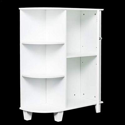 Futureshine Bathroom Wall Mounted Cabinet 3 Shelvs Single Door Indoor Kitchen